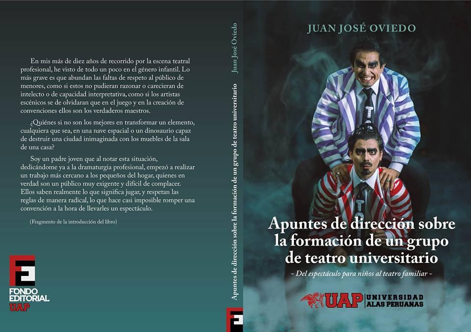 Libro: Apuntes de dirección sobre la formación de un grupo de teatro universitario